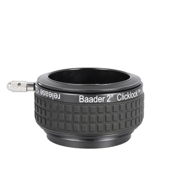 "Baader 2"" Clicklock Clamp for all Diamond Steeltrack Focusers"