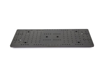 """Baader Heavy-Duty 8"""" Planewave double mounting plate, pre-drilled for many bars and clamps or add'l 8"""" Planewave Clamp"""