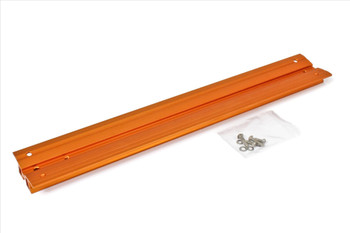 """V-Dove Tail orange anodized, 455mm long, drilled for Celestron 9.25Â"""" and 11Â"""" SC / HD"""