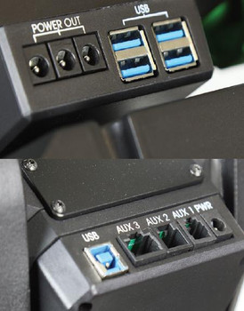 Sky Watcher EQ8-Rh GE Mount Ports