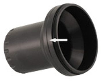 Astro-Physics Polar Scope Cover - 900 Mounts Shipped Before October 2005, all 400 and most 1200 Mounts (except original black metric version)  (Q12700)