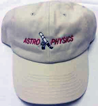 Astro-Physics Astro-Physics Embroidered Cap, Stone  (APCAPES)