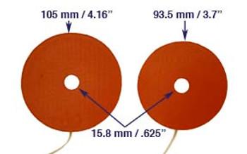 Kendrick Secondary Mirror Heater- 94mm
