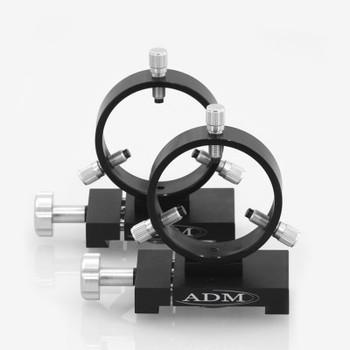 ADM- D Series Ring Set. 75mm Adjustable Rings
