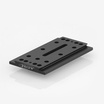 ADM- D Series Universal Dovetail Bar. 7in Long, 2in Spacing