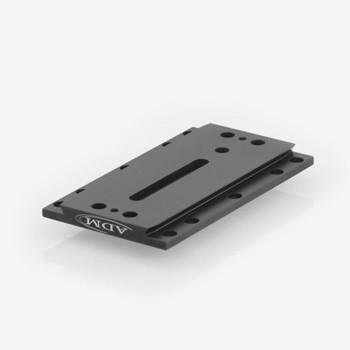 ADM- D Series Universal Dovetail Bar. 7in Long, 3.5in Spacing