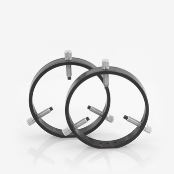 ADM- R125- 125 mm Adjustable Rings with Delrin Tipped Thumb Screws