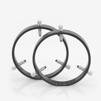 ADM- R150- 150 mm Adjustable Rings with Delrin Tipped Thumb Screws