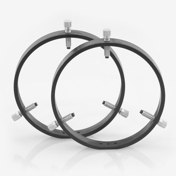 ADM- R175- 175 mm Adjustable Rings with Delrin Tipped Thumb Screws