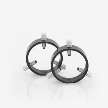 ADM- R75- 75 mm Adjustable Rings with Delrin Tipped Thumb Screws
