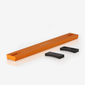 ADM- V Series Dovetail Bar for Celestron 8in SCT Telescope. Orange Anodized