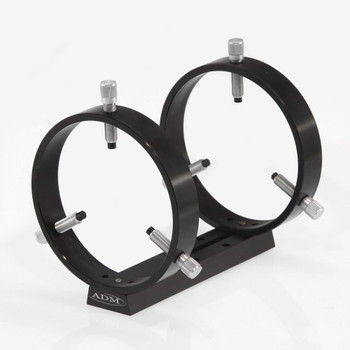 ADM- V Series Universal Dovetail Ring Set. 125mm Adjustable Rings