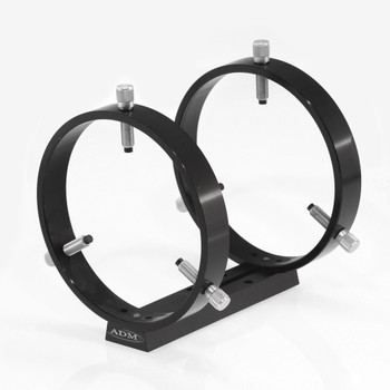 ADM- V Series Universal Dovetail Ring Set. 150mm Adjustable Rings