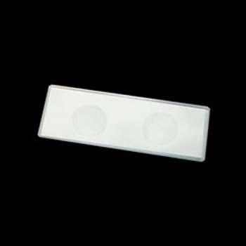 Double Concave Microscope Slides 72 slides per box