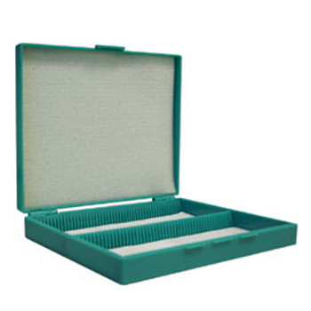Polypropylene Slide Box (holds 100 slides)