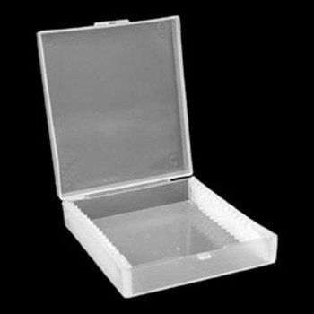 Polypropylene Slide Box (holds 15 slides)