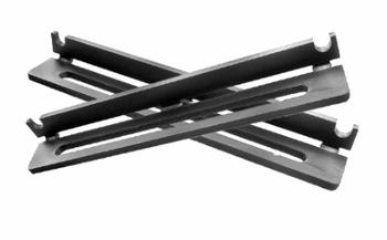 PegasusAstro Pair of Black Aluminium Dovetail Brackets for UPBv2