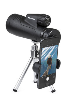 20x50mm Outland X Monocular with Tripod, Smartphone Adapter