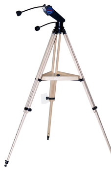 STARGUY ALT AZ IN BLACK WITH WOOD TRIPOD