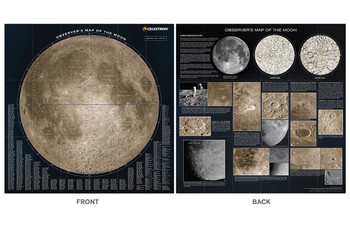 Celestron Observer's Map of the Moon