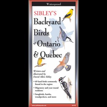 Earth Sky and Water Sibley's Backyard Birds of Ontario & Quebec
