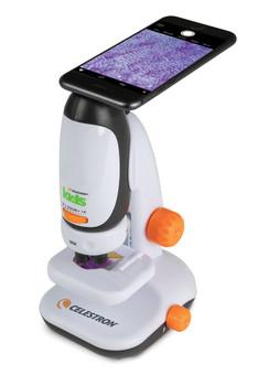 Celestron Kids Microscope w/ Smartphone Adapter