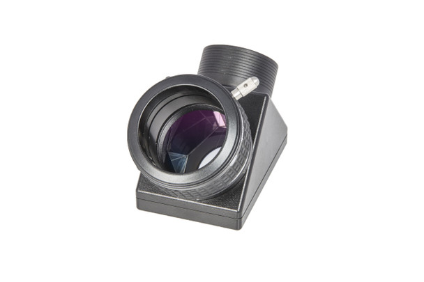 """Baader 2""""/90° Deluxe Astro-Grade Amici Prism with BBHS® Coating (full 2"""" aperture), with 2"""" Clicklock and 2"""" Nosepiece (hard silver coated roof faces)"""
