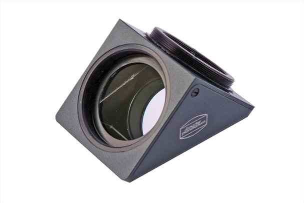 """Baader 2"""" Universal Star Diagonal Prism, Black Housing with Zeiss Spec Prism with BBHS® Coating and 2"""" Clicklock Clamp"""