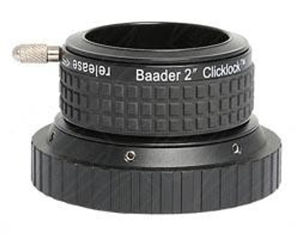 "Baader 2"" Clicklock Clamp for Large SCT (internal 3.3"" Thread, for C11/C14)"