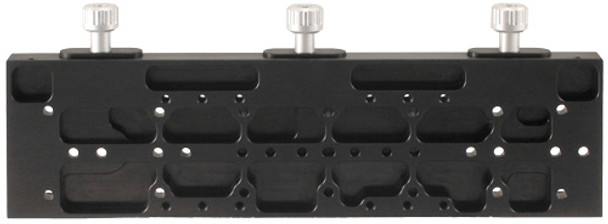 Astro-Physics 16in Easy-Balance Dovetail Saddle Plate with 3 clamps - 1600, 1100, 1200, 900, Mach1 and Mach2   (DOVELM162)