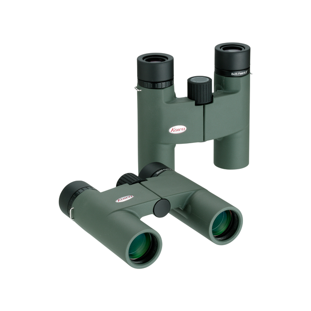 Kowa 8x25mm BD Roof Prism Binoculars, Green Body
