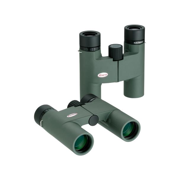 Kowa 10x25mm BD Roof Prism Binoculars, Green Body