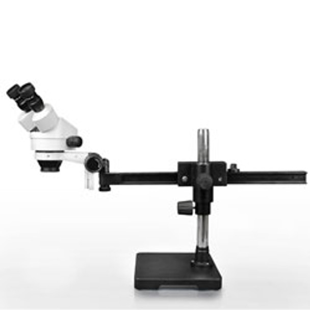 Trinocular10x WF7x - 45xGliding Arm Boom Stand