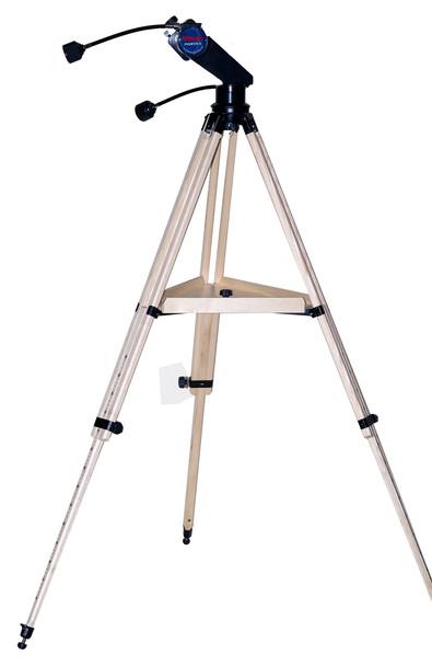Vixen Optics Starguy Alt Az in Black with Wood Tripod