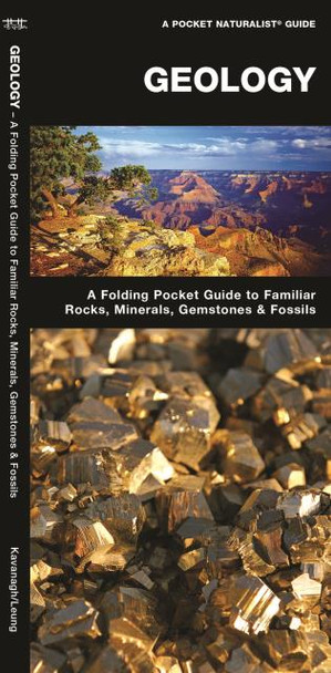 Waterford Press Geology A Folding Pocket Guide to Familiar Rocks, Minerals, Gemstones & Fossils