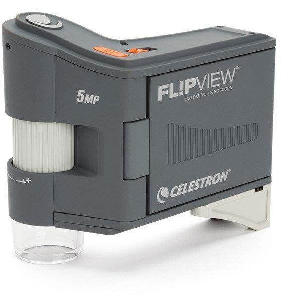 Celestron FlipView Handheld LCD Microscope