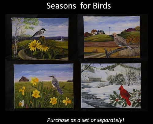 Season for Birds; Four for one price.