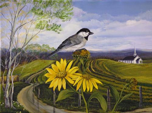 Seasons- Summer Chickadee