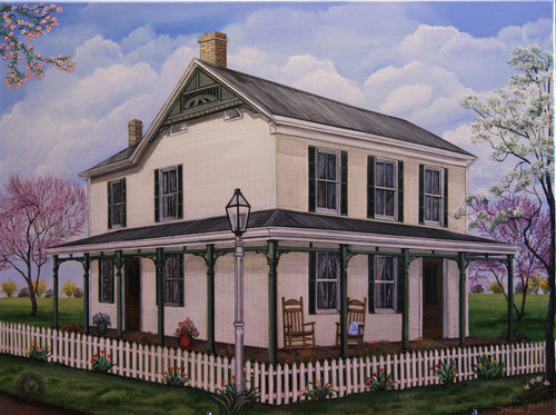 Augusta Ky Home 18x24