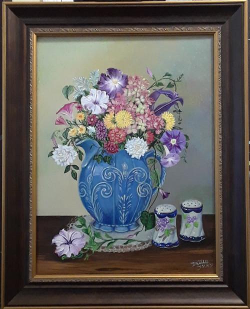 Vintage Victorian Blue