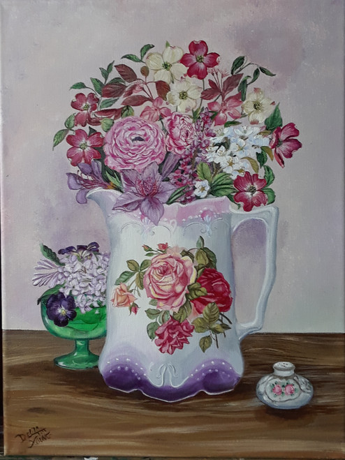 Victorian Spring Blooms- original
