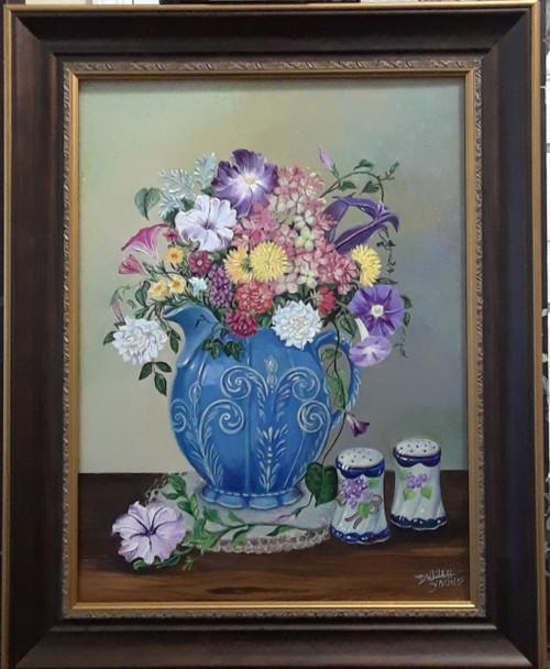 Vintage Victorian Blue -original