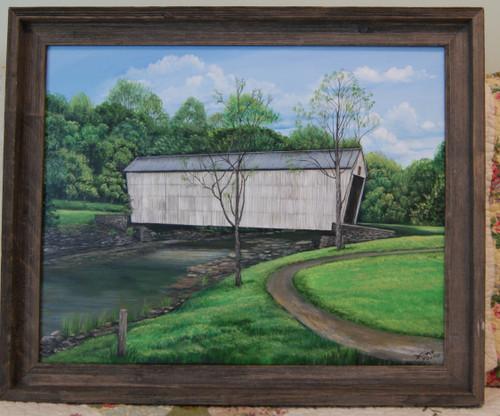 Walcott Covered Bridge canvas print