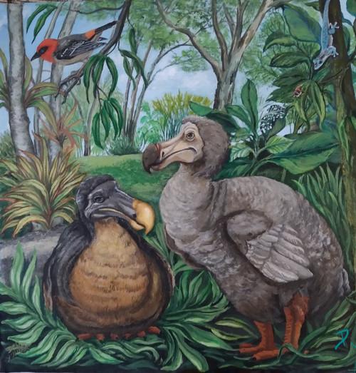 Dodo Revisited canvas print