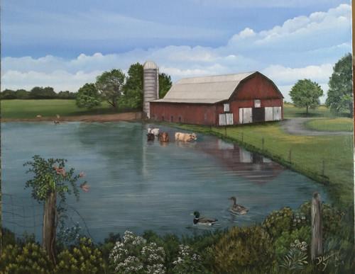 Farm Pond  original