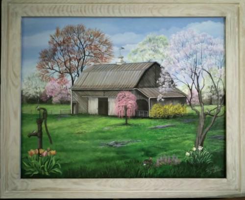 Ode to Spring-  original