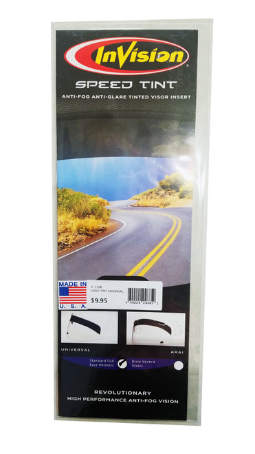 InVision Speed Tint Visor Insert