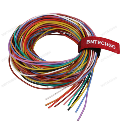 20 Gauge Silicone Wire Kit Ultra Flexible 10 Color High Resistant 200 deg C