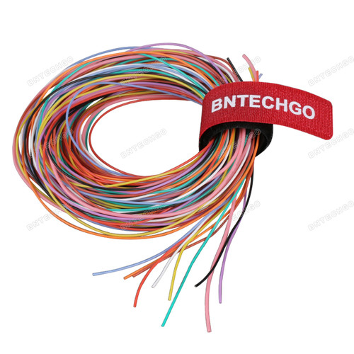 30 Gauge Silicone Wire Kit Ultra Flexible 10 Color,each color 10 ft,total 100 feet