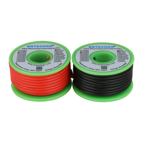 16 AWG Silicone Wire Spool 50 feet Ultra Flexible High Temp 200 deg C